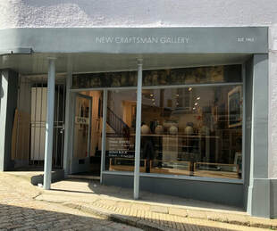 New Craftsman Gallery St Ives Cornwall