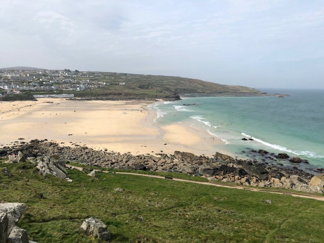 Things to do St Ives Cornwall Porthmeor Beach